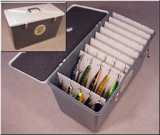 Question best muskie tackle box freshwater fishing for Best fishing tackle box